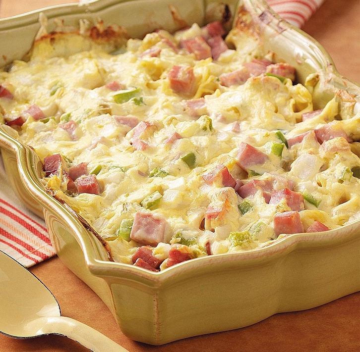 Casseroles Recipes: Recipe: Ham And Linguine Casserole