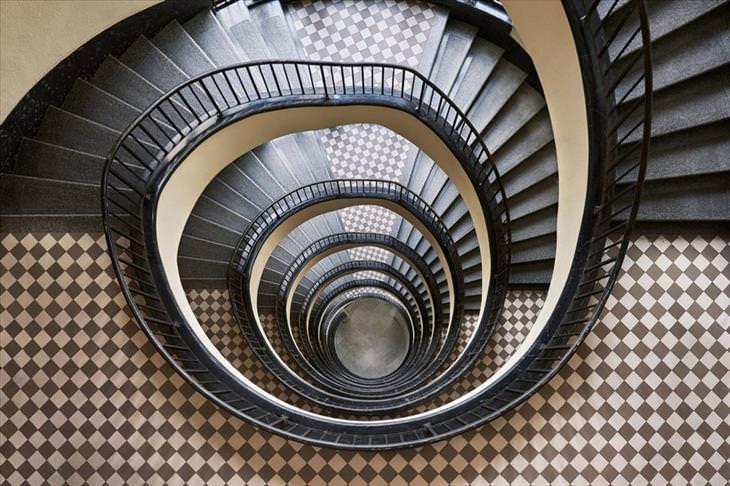 Fantasticas Escaleras En Espiral Diseno Y Fotografia Todo Mail - Escaleras-en-espiral