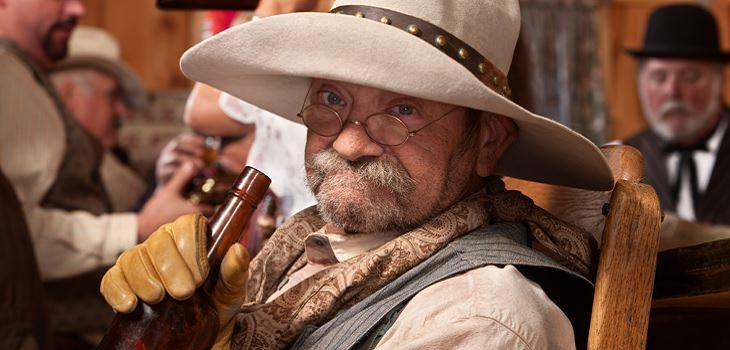 joke, cowboy, drinking