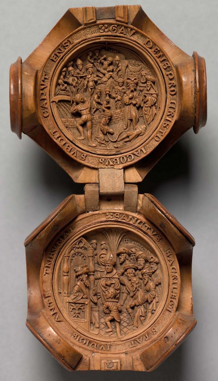 carvings, art, boxwood, beautiful
