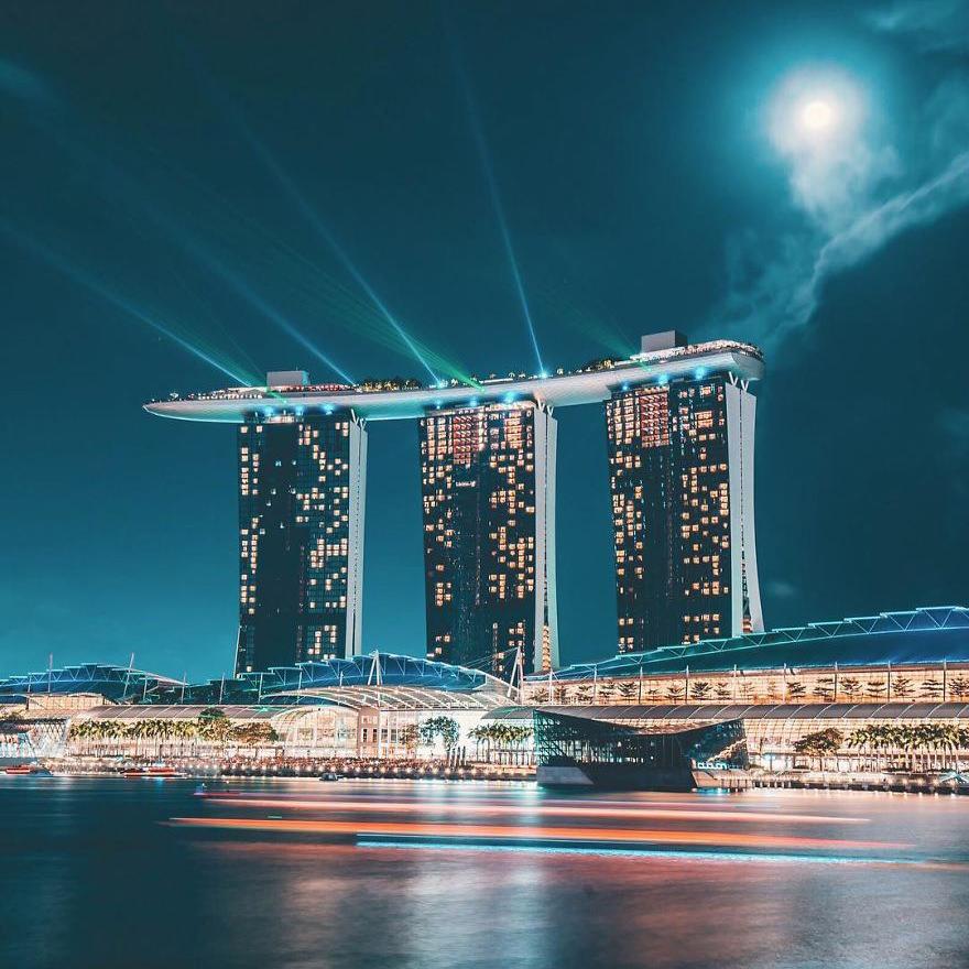 Yik keat 39 s incredible shots of singapore design - Bay architecture ...