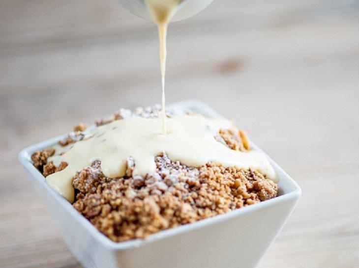 Recipe - Apple - Rhubarb - Crumble