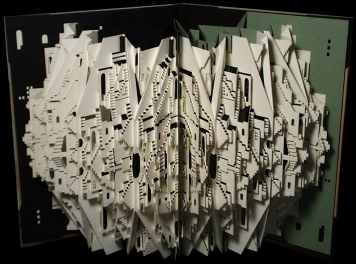 paper art Ingrid Siliakus