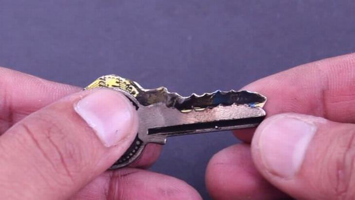 emergency DIY key