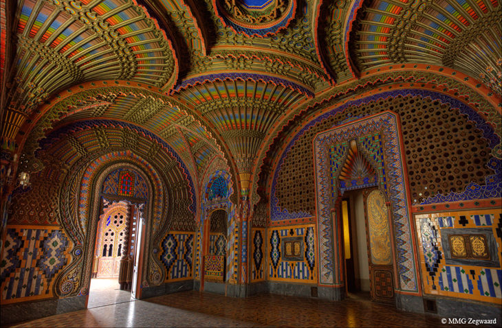 The Castello Di Sammezzano A Moorish Jewel Design