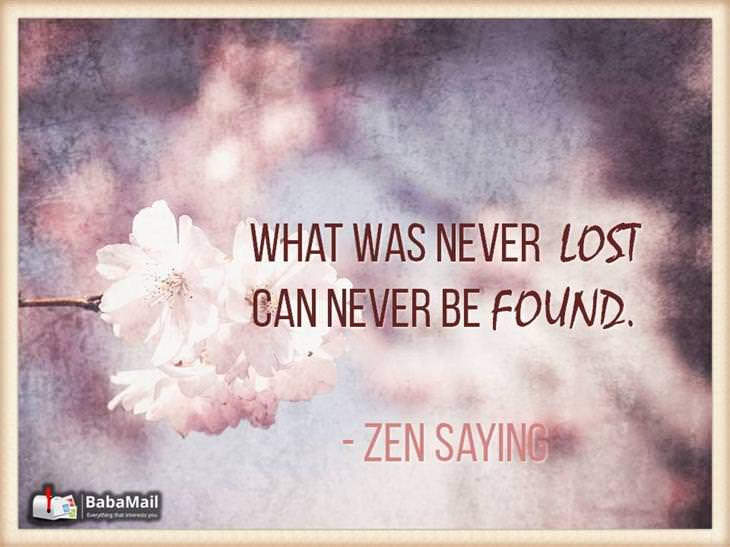 Zen Quotes | 10 Inspiring Zen Quotes Spirituality Babamail