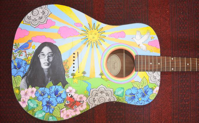 girl guitar sixties