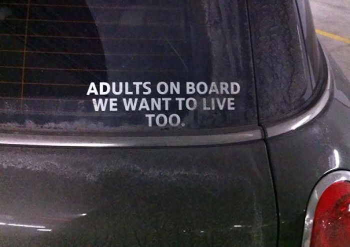 Hilarious examples of bumper stickers like like