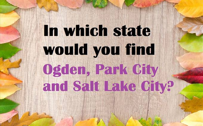 b2db5b5cd18685 Guess the US State From Just 3 Cities