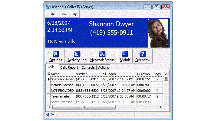 Applications d'identification de l'appelant