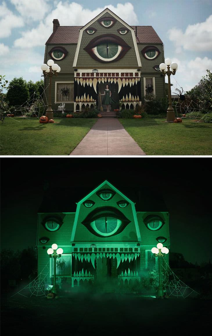 20 over-the-top halloween houses   design & photography - babamail