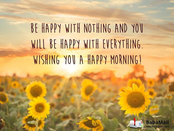 Be happy in the little things have a great day! ecards