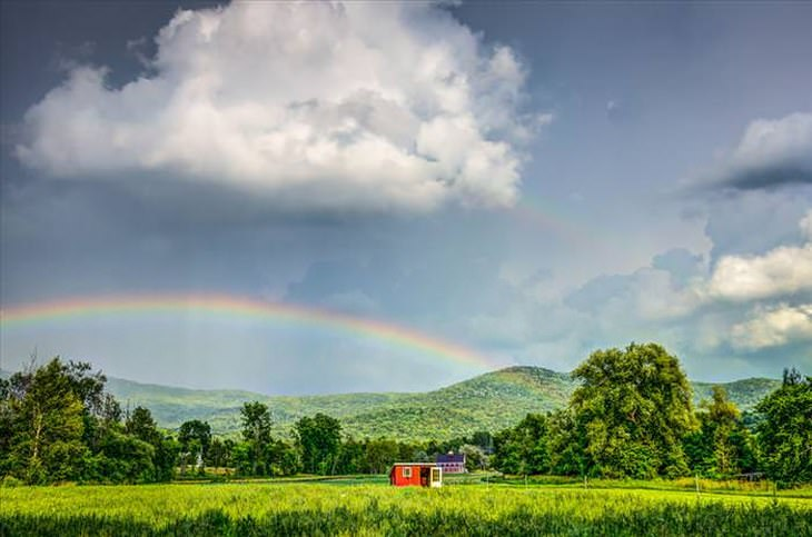What Can Be More Perfect Than A Double Rainbow Nature Babamail