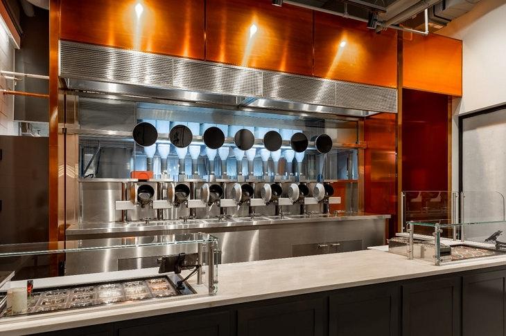 Restaurant robotique : restaurant utilise des robots
