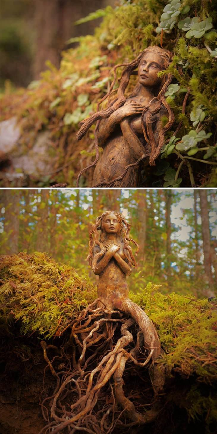 Stunning Driftwood Art