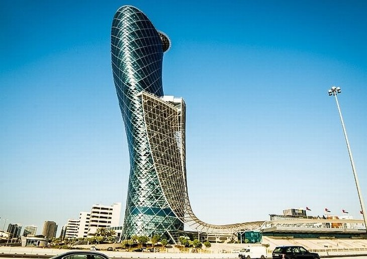Futuristic Buildings The Capital Gate
