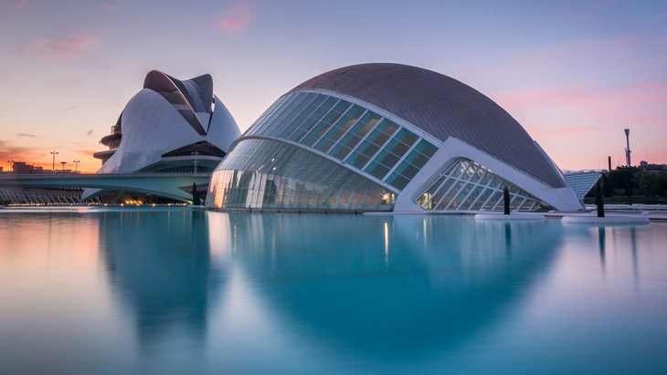 Futuristic Buildings The City of Arts and Sciences