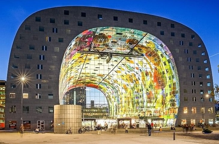 Futuristic Buildings The Markthal