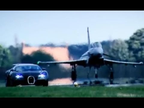 bugatti veyron vs euro fighter jet plane wheels air water babamail. Black Bedroom Furniture Sets. Home Design Ideas