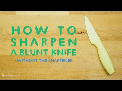 how to sharpen your kitchen knife at home tips and updates babamail. Black Bedroom Furniture Sets. Home Design Ideas
