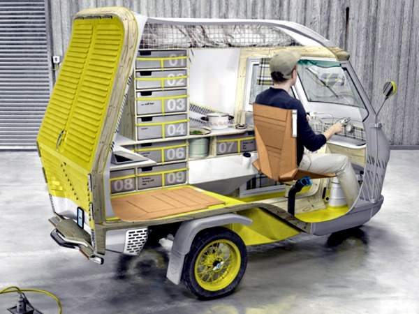 Its Ingenious A Caravan That Is Also Tricycle
