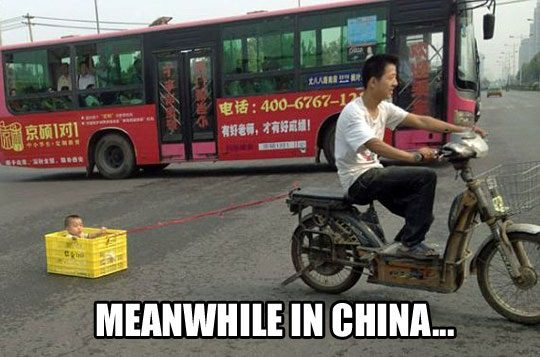 only in china
