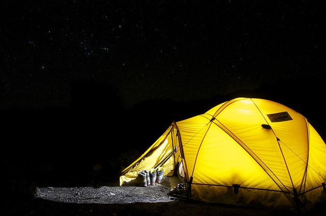 chiste del dia camping