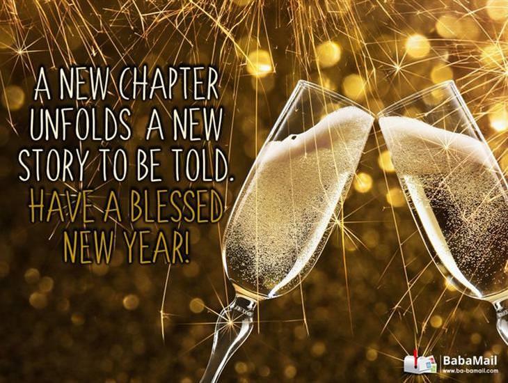 happy new year ecard greeting