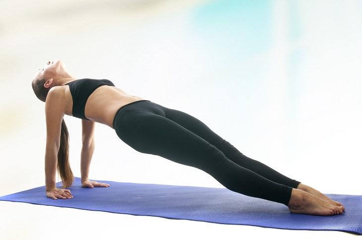 reverse plank