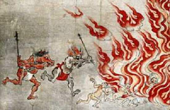 Horse-Inspired Creatures from Mythology and Folklore, , Horse-Face, and his counterpart Ox-Head, guardians of the Underworld in Chinese folklore