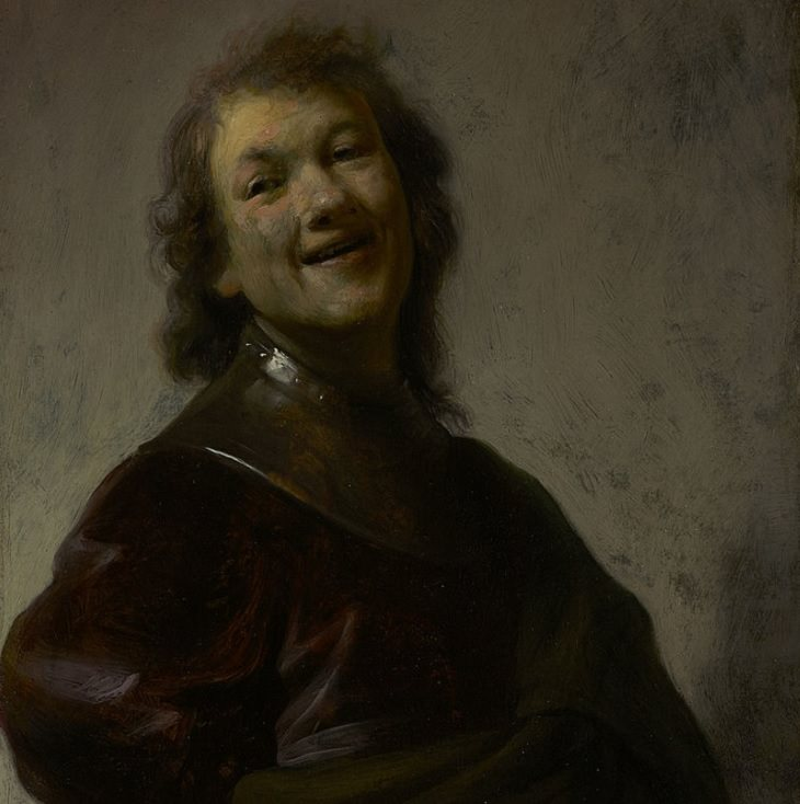 Lesser known works of Rembrandt, Rembrandt Laughing (Self Portrait), 1628, J. Paul Getty Museum, Los Angeles