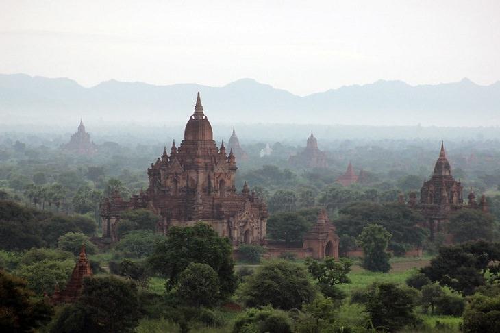 ancient ruins Bagan Temples, Myanmar