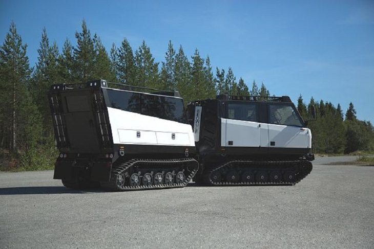 Incredible All-Terrain Vehicles (ATV's) for off-road travels and adventure, BVS10 BEOWULF ALL-TERRAIN TRACKED VEHICLE