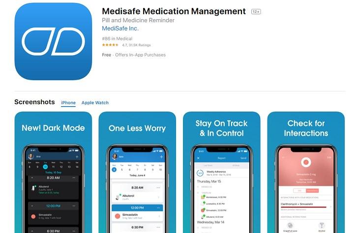 Medisafe app senior citizen