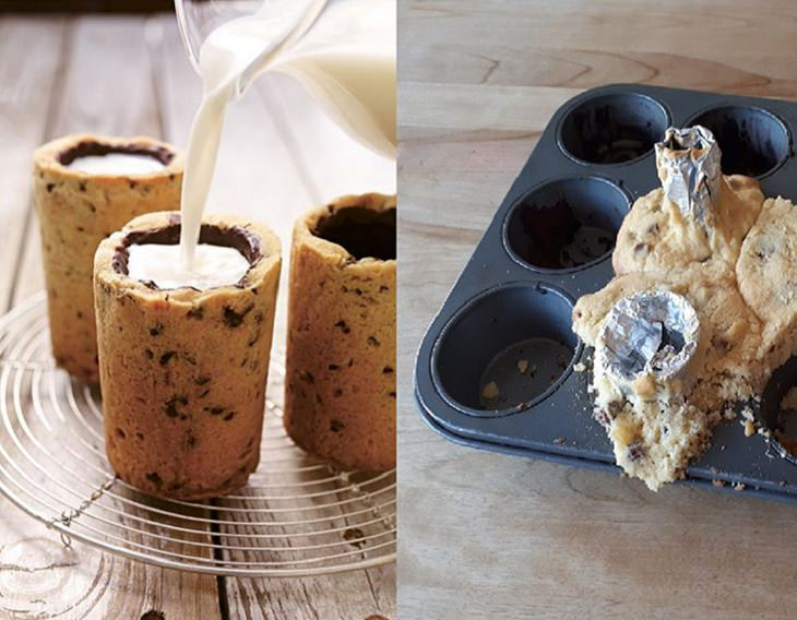 unbeatable food fails and cooking incidents that ended disastrously, cookie cups