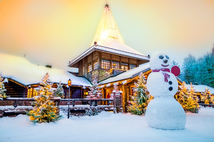 Picturesque Christmas Locations Rovaniemi, Finland
