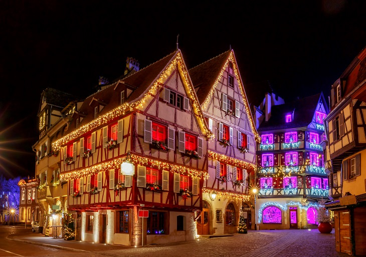 Picturesque Christmas Locations Colmar, France
