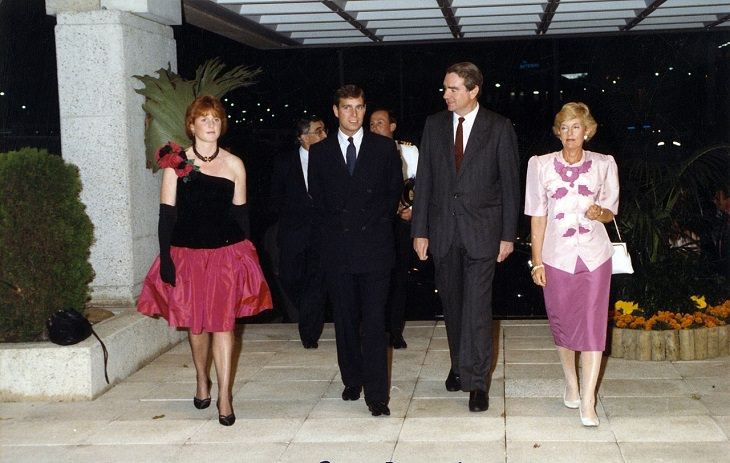 Famous Royal Marriages that failed, Prince Andrew and Sarah Ferguson
