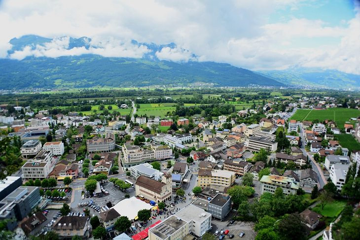 Liechtenstein, Alps, Switzerland, Europe, Smallest Country,  Austria