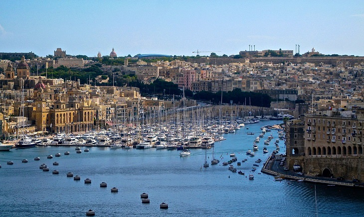 The Republic of Malta, Smallest Countries, Europe, Mediterranean Sea,