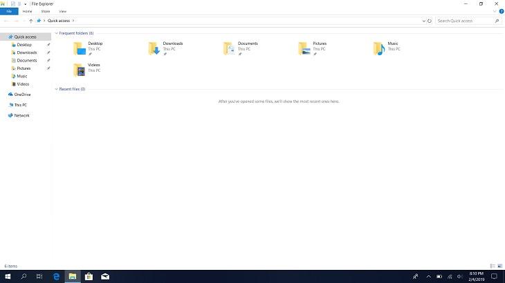 Windows key, E key, File explorer, Search, Documents, Shortcut
