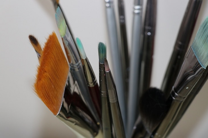 Paint brushes, sponge brush, household items, Cleaning, Dust Free, House, Spotless, Home