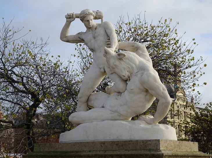 Theseus and the Minotaur, Temple, Greek Mythology, Ancient Greece, Heroes, Myths, Legends, Warrior, Stories, Gods, Zeus, Poseidon, Hades