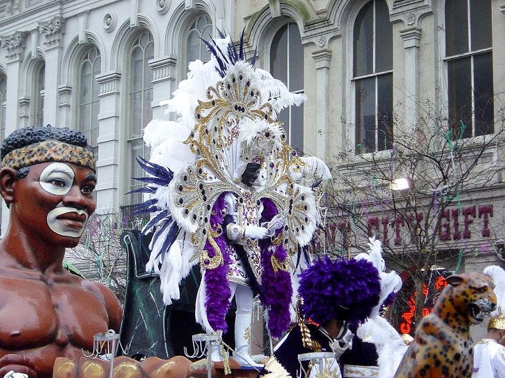Galveston, Texas, Port Arthur, Carnival, Festival, Mardi Gras, Beads, Dubloons, Alcohol, Party, Celebrations, Lenten Fasting, Tradition, New Orleans