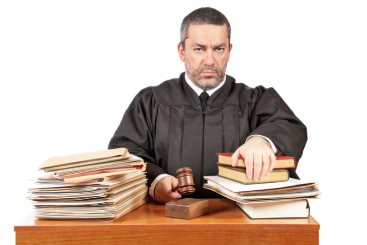 joke annoyed judge