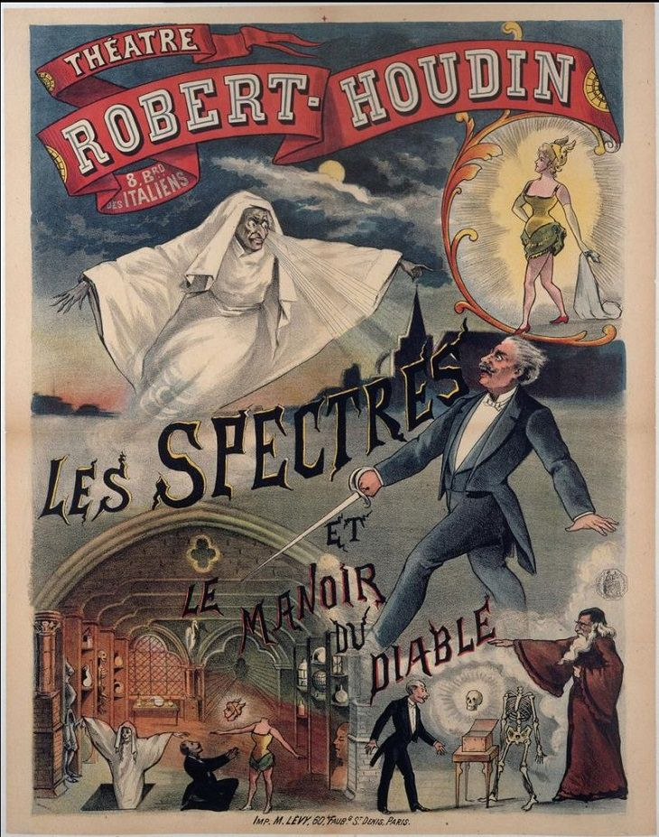 Jean Eugene Robert Houdin, Magician, Illusionist, Art, Magic Trick, Mentalist