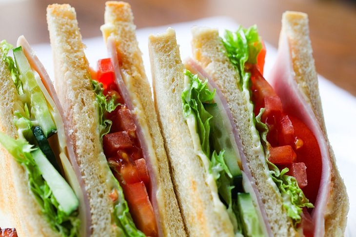 Sandwiches, Messy, Convenient, Wrong, Right Way To Eat, Food,
