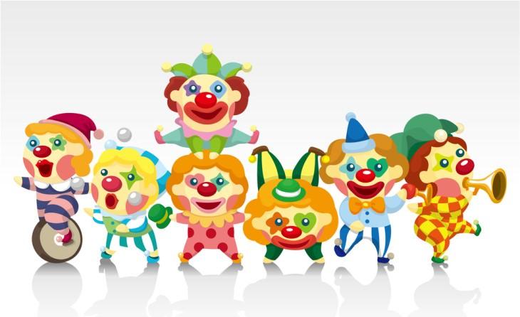 joke small clowns