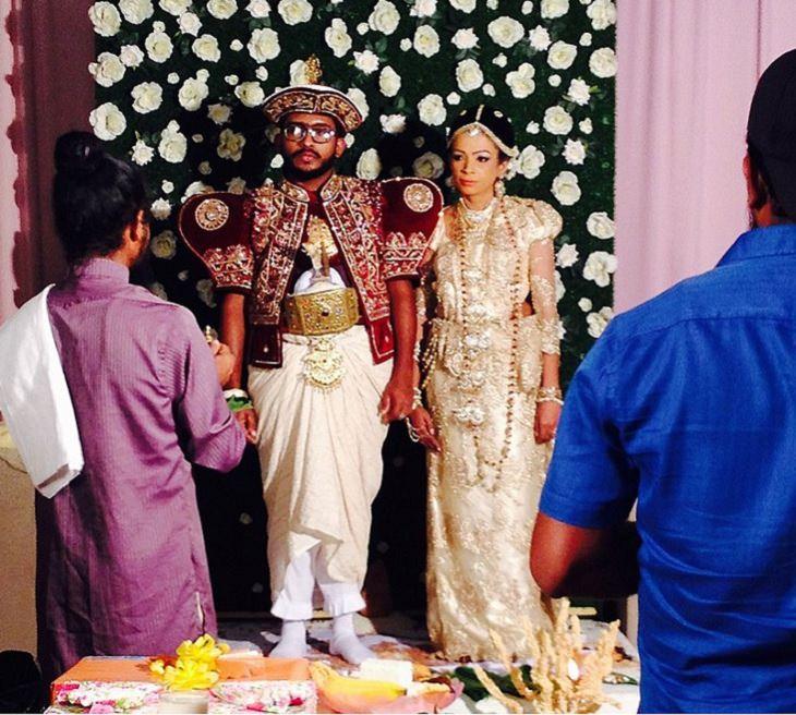 Sri Lanka, international wedding dresses, tradition, custom,