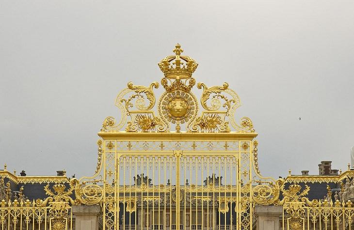 Golden Gates, Entrance, Chateau De Versailles, Ile De France, Paris, Palace, Royal Mansion, Garden, Forest, Fountain Show, Music and Lights Show